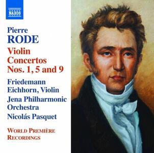 Concerti per violino - CD Audio di Pierre Rode