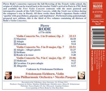 Concerti per violino - CD Audio di Pierre Rode - 2