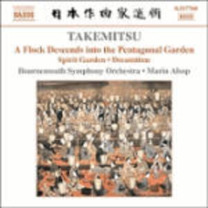 Spirit Garden - Solitude Sonore - Dreamtime - A Flock Descends Into the Pentagonal Garden - CD Audio di Toru Takemitsu