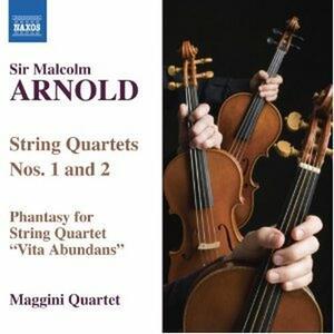 Quartetti per archi n.1, n.2 - CD Audio di Malcolm Arnold,Maggini Quartet