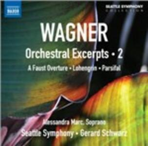 Orchestral Excerpts vol.2 - CD Audio di Richard Wagner