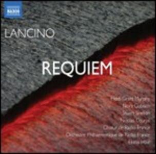 Requiem - CD Audio di Eliahu Inbal,Thierry Lancino
