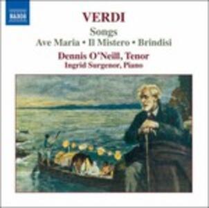 Arie da camera - CD Audio di Giuseppe Verdi