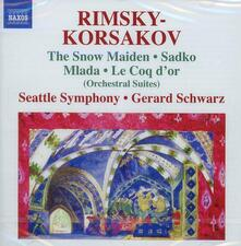Suites - CD Audio di Nikolai Rimsky-Korsakov,Gerard Schwarz,Seattle Symphony Orchestra