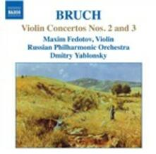 Concerti per violino n.2, n.3 - CD Audio di Max Bruch,Russian Philharmonic Orchestra,Dmitri Yablonsky,Maxim Fedotov