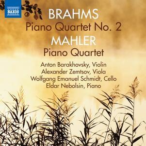 Quartetto con pianoforte e archi n.2 op.26 - CD Audio di Johannes Brahms,Eldar Nebolsin