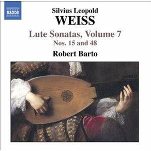 Sonate per liuto vol.7 - CD Audio di Sylvius Leopold Weiss,Robert Barto