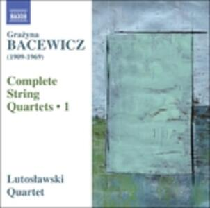 Quartetti d'archi - CD Audio di Grazyna Bacewicz