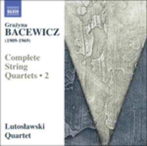 Integrale dei quartetti per archi - CD Audio di Grazyna Bacewicz