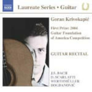 Guitar Recital - CD Audio di Goran Krivokapic