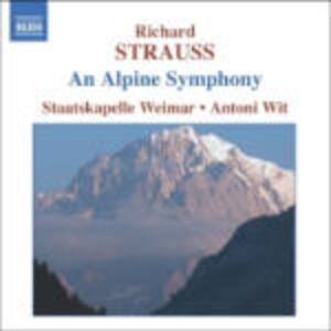 Sinfonia delle Alpi (Eine Alpensinfonie) - CD Audio di Richard Strauss,Antoni Wit,Staatskapelle Weimar