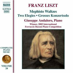 Opere per pianoforte vol.24 - CD Audio di Franz Liszt