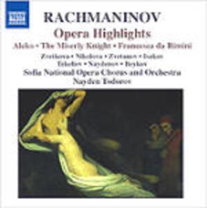 Selezione da opere - CD Audio di Sergej Vasilevich Rachmaninov