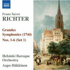 Grandes Symphonies n.1, n.2, n.3, n.4, n.5, n.6, - CD Audio di Franz Xaver Richter