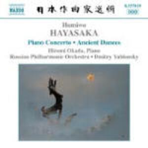 Concerto per pianoforte - Ancient Dances on the Left and on the Right - CD Audio di Russian Philharmonic Orchestra,Dmitri Yablonsky,Hiromi Okada,Humiwo Hayasaka