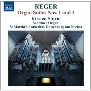 Organ Suites No.1 & 2 - CD Audio di Max Reger