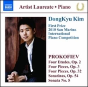 Recital Del Pianista Dongkyu Kim - CD Audio di Sergej Sergeevic Prokofiev