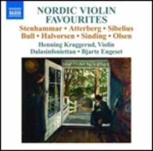 Nordic Violin Favourites - CD Audio