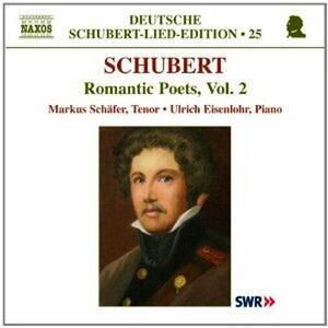 Lieder vol.2 - CD Audio di Franz Schubert,Ulrich Eisenlohr,Markus Schäfer