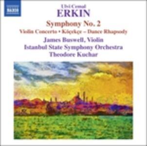Concerto per violino - Sinfonia n.2 - Köçekçe - CD Audio di Ulvi Cemal Erkin