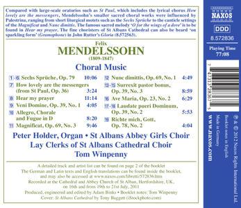 Musica corale - CD Audio di Felix Mendelssohn-Bartholdy - 2