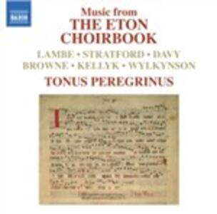 Eton Choirbook - CD Audio di Tonus Peregrinus