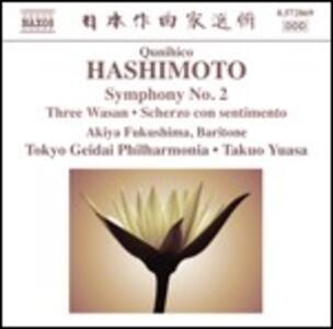 Sinfonia n.2 - Three Wasan - Partita - CD Audio di Takuo Yuasa,Qunihico Hashimoto