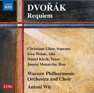 Requiem - CD Audio di Antonin Dvorak,Antoni Wit