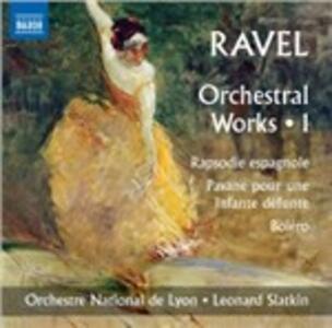 Integrale delle opere orchestrali vol.1 - CD Audio di Maurice Ravel