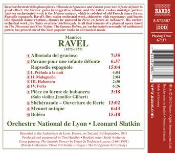Integrale delle opere orchestrali vol.1 - CD Audio di Maurice Ravel - 2