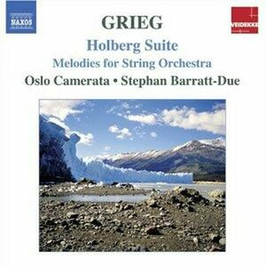Holberg Suite - Melodie per archi - CD Audio di Edvard Grieg