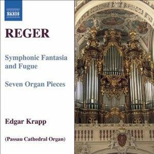 Fantasia Sinfonica e Fuga op.57 - Pezzi per organo op.145 - CD Audio di Max Reger,Edgar Krapp
