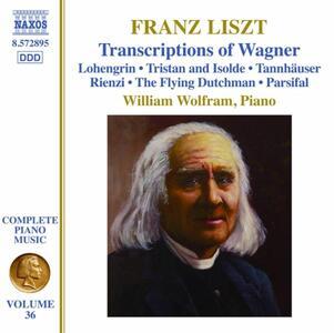 Opere per pianoforte vol.36 - CD Audio di Franz Liszt