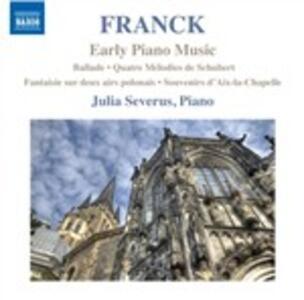 Opere pianistiche giovanili - CD Audio di César Franck