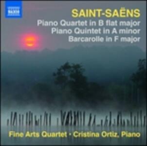Piano Quartet in B Flat M - CD Audio di Camille Saint-Saëns