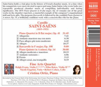 Piano Quartet in B Flat M - CD Audio di Camille Saint-Saëns - 2