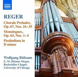 Opere per organo vol.15 - CD Audio di Max Reger