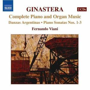 Musica completa per pianoforte e per organo - CD Audio di Alberto Ginastera