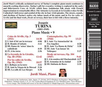 Musica per pianoforte vol.9 - CD Audio di Joaquin Turina - 2