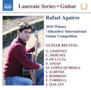 Guitar Recital. Laurate Series - CD Audio di Rafael Aguirre