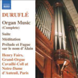Musica completa per organo - CD Audio di Maurice Duruflé