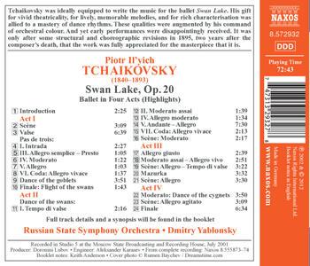 Il lago dei cigni - CD Audio di Pyotr Il'yich Tchaikovsky - 2