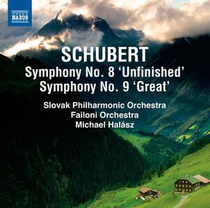 Sinfonie n.8, n.9 - CD Audio di Franz Schubert