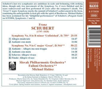 Sinfonie n.8, n.9 - CD Audio di Franz Schubert - 2