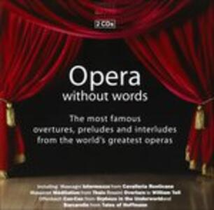 Opera Without Words - CD Audio
