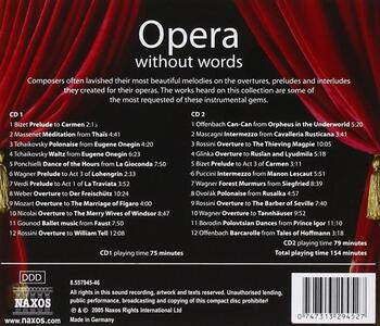 Opera Without Words - CD Audio - 2