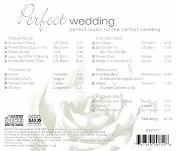Perfect Wedding - CD Audio