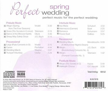 Perfect Spring Wedding - CD Audio