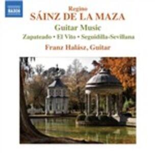 Opere per chitarra - CD Audio di Regino Sainz de la Maza