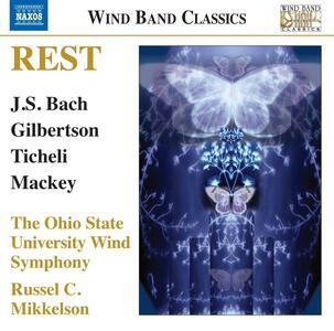 Rest. Opere per fiati - CD Audio di Gustav Holst